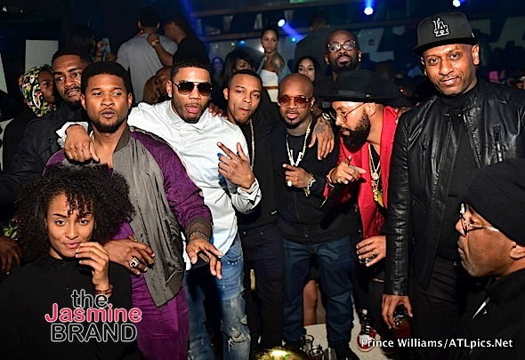 Jermaine Dupri, Keke Palmer, Jim Jones, Bow Wow, Usher Party in ATL [Photos]