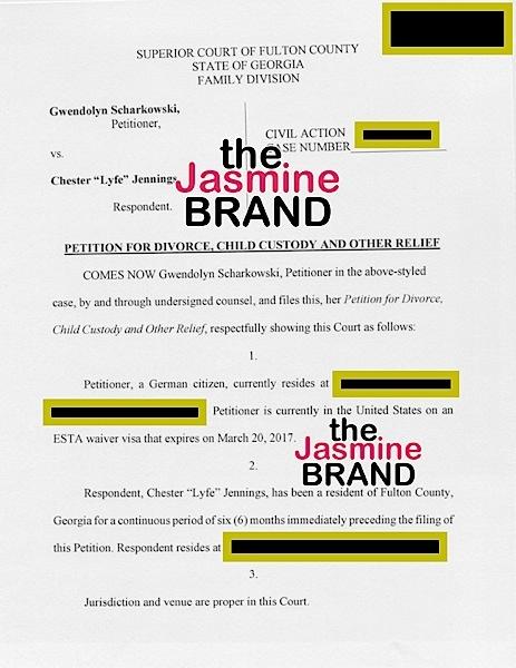 (EXCLUSIVE) Lyfe Jennings Estranged Wife Wants Alimony & Porsche Panamera In Divorce