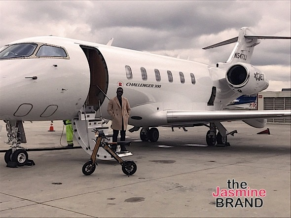 (EXCLUSIVE) Ray J Buys New Private Jet, Airtroniks