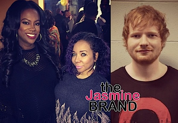 Kandi Burruss & Tiny Harris Wrote On Ed Sheeran's New Album