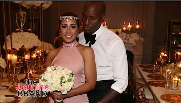 Tyrese Gets Married: We tried to keep it secret. [Video]