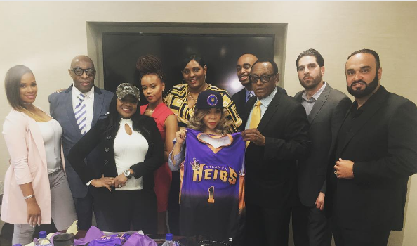 Tameka 'Tiny' Harris 1st Female Owner of a Co-ed Basketball League [Photo]