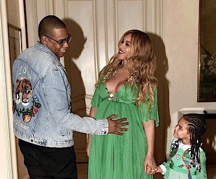 Beyonce, Jay Z & Blue Ivy Attend 'Beauty And The Beast' Premiere [Photos]