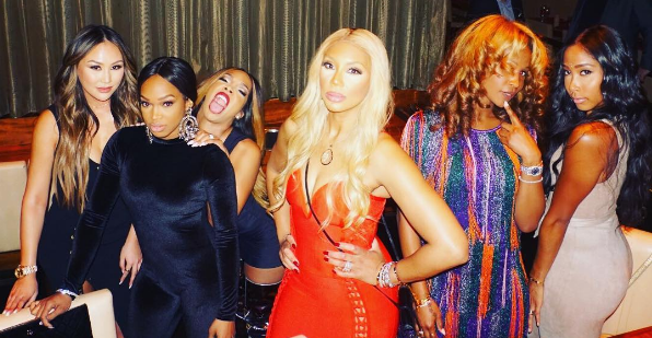 Khadijah & Malika Haqq Celebrate B-Day With Tamar Braxton, Dorothy Wang & Apryl Jones [Photos]