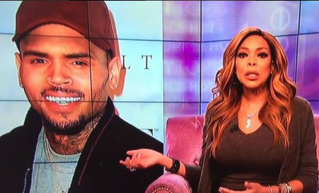 Wendy Williams Burst Into Tears Over Chris Brown [VIDEO]