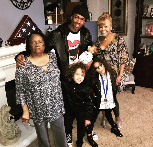 Nick Cannon Debuts Newborn Son, Golden