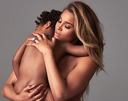 Ciara's Nude Maternity Shoot Both Praised & Criticized [Photos]