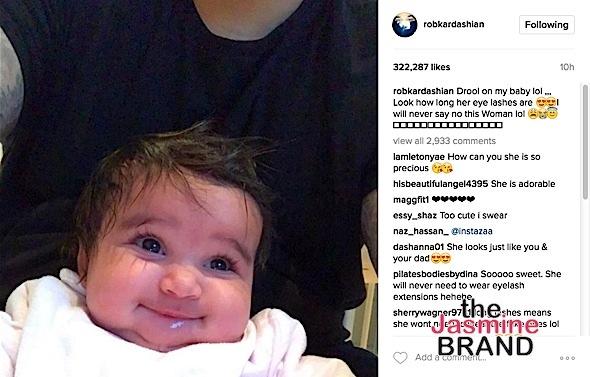Those Cheeks: More Cuteness From Dream Kardashian!