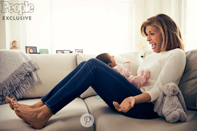 Cancer Left Hoda Kotb Unable To Conceive + Sweet Pics of Newborn Adopted Daughter [Photos]