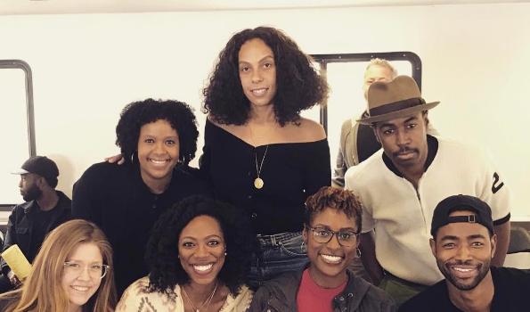 "HBO's ""Insecure"" Prepping Season 2: Issa Rae, Jay Ellis, Yvonne Orji [Photos]"