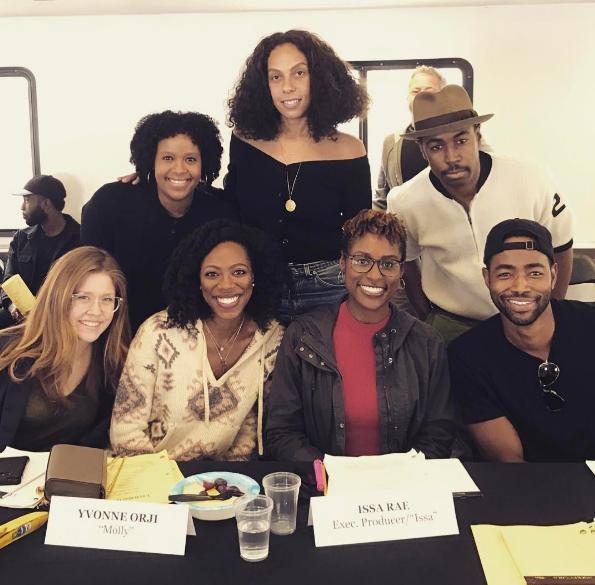 "HBO's ""Insecure"" Prepping Season 2: Issa Rae, Jay Ellis, Yvonne Orji"