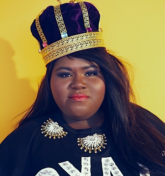 Gabby Sidibe's New Shoot: Corsets, Crowns & Confidence [Photos]