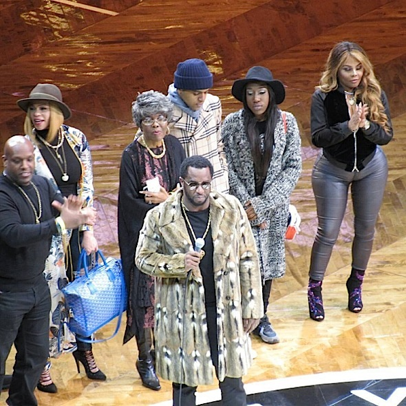 Biggie Night: Voletta Wallace, Sean 'Diddy Combs, Faith Evans, Lil Kim, Cardi B Attend