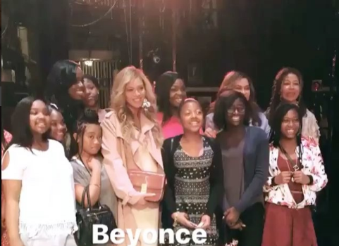 Beyonce & Mom Tina Lawson Attend Alvin Ailey Dance Theater Show [VIDEO]