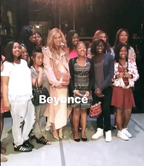 Beyonce & Mom Tina Lawson Attend Alvin Ailey Dance Theater Show