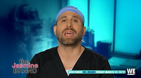 Social Media's Fav Plastic Surgeon 'Dr. Miami' New Reality Show [TEASER]