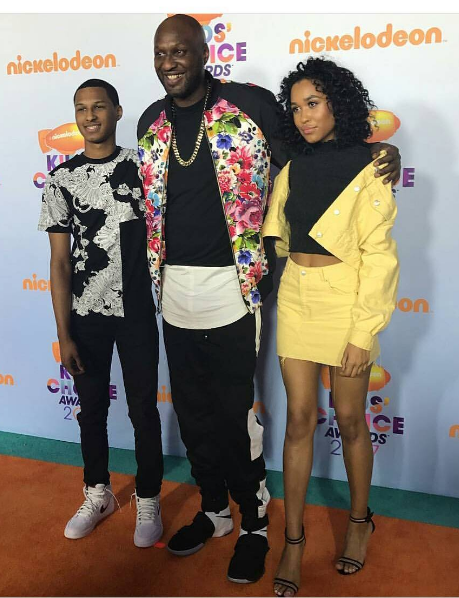 Kids Choice Awards: Nick Cannon, Mariah Carey & Dem Babies, Lamar Odom & His Adorable Kids + Blac Chyna & King Cairo