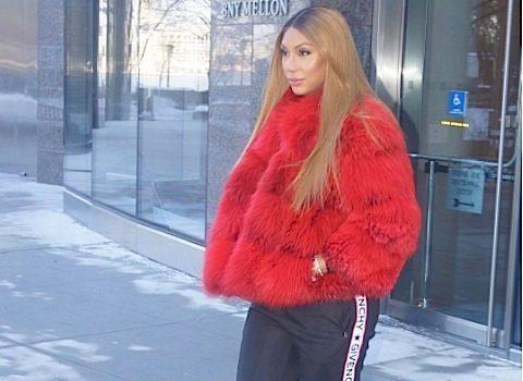 Tamar Braxton Rocks Valentino, Givenchy & Louboutin [Celebrity Fashion]