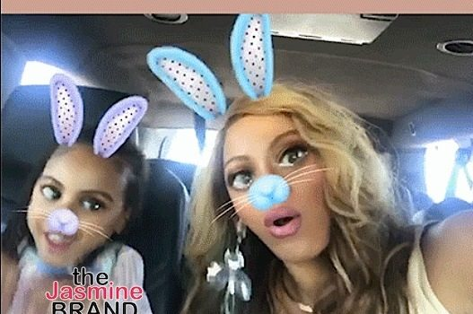 Beyonce & Blue Ivy Hit Alvin Ailey Show + More Snapchat Fun [Photos]