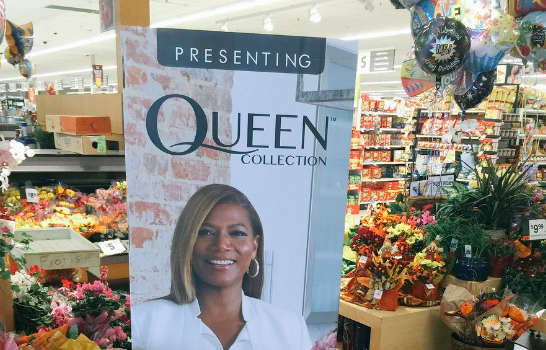 Queen Latifah Launched A Floral Line: 'Queen Collection' [Photo]