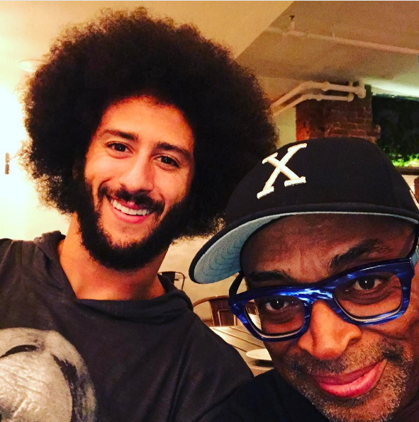 Spike Lee Defends Kaepernick: He hasn't committed a crime!