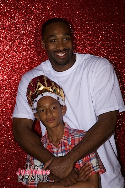 Gilbert Arenas Throws B-Day Bash For Son: Diddy, Kevin Hart & Mike Epps' Kids Spotted