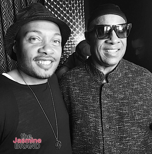 Dave Chappelle Celebrates Comedy Special At LA Club: Meagan Good, Stevie J, Estelle Spotted [Photos]