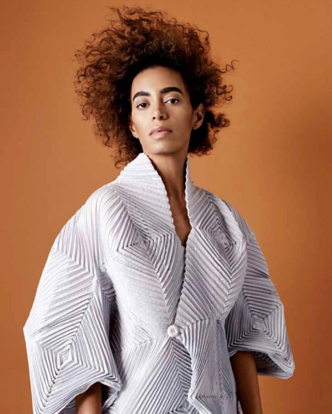 Solange: Haute Hair, Brows & Fashion [BUST Magazine]