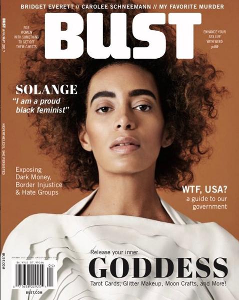 Solange: Haute Hair, Brows & Fashion [BUST Magazine]
