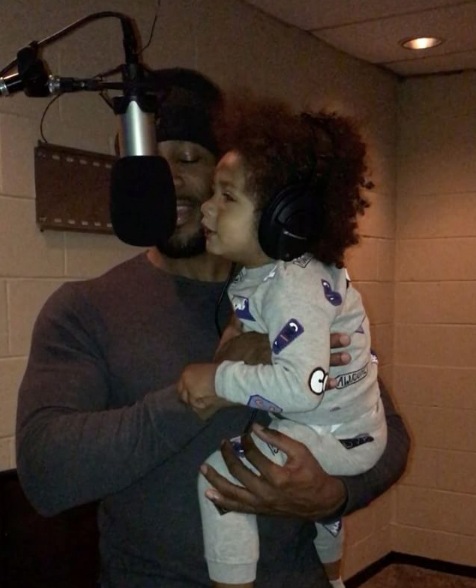 Adorable! Tank's Son Records 1st Single