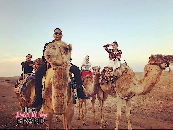 John Legend & Chrissy Teigen Visit Morocco