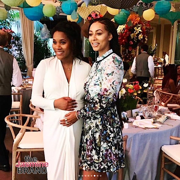 Russell Westbrook's Wife Hosts Baby Shower: Keri Hilson Spotted