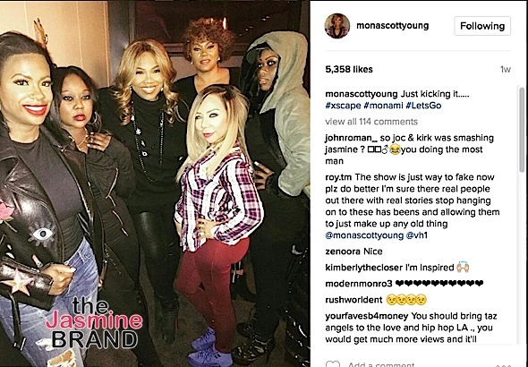 Kandi Burruss Hints Mona Scott-Young Involved In New Xscape Project