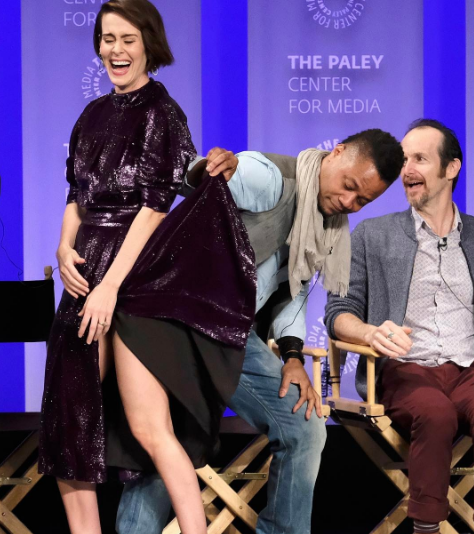 Cuba Gooding Jr. Lifts Up Actress Dress On Stage [VIDEO]