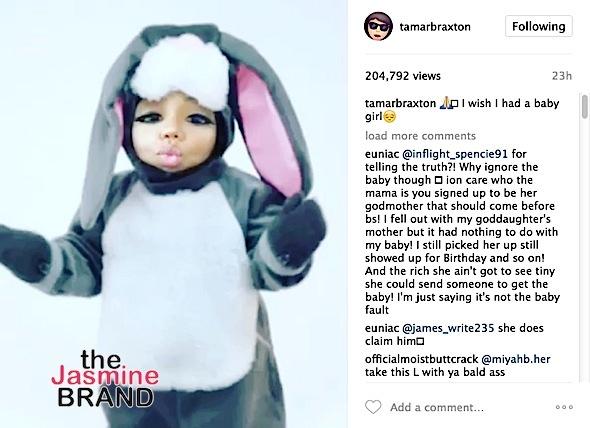 Tiny's Mother Calls Out Tamar Braxton