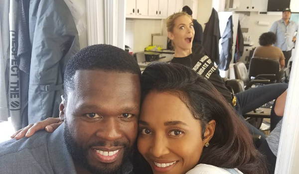 50 Cent & Chilli Spotted Filming 'Escape Plan 2' [Photos]