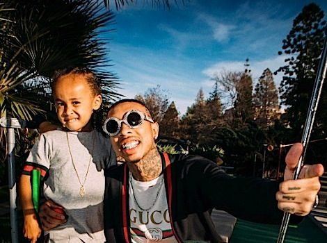 Tyga Says 4-Year-Old Is Spoiled: He likes women, cars & jewelry.