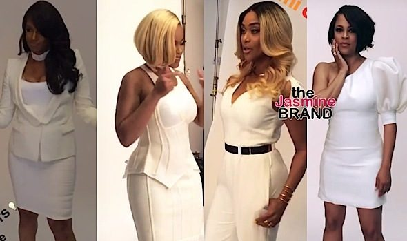 "New ""Basketball Wives LA"" Shoot: Tami Roman, Jackie Christie, Shaunie O'Neal & Malaysia Pargo"