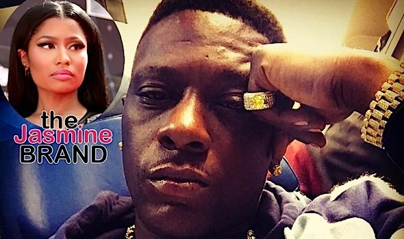 Rapper Boosie Defends Nicki Minaj, Calls Out Fake A$* B*tches [Photo]