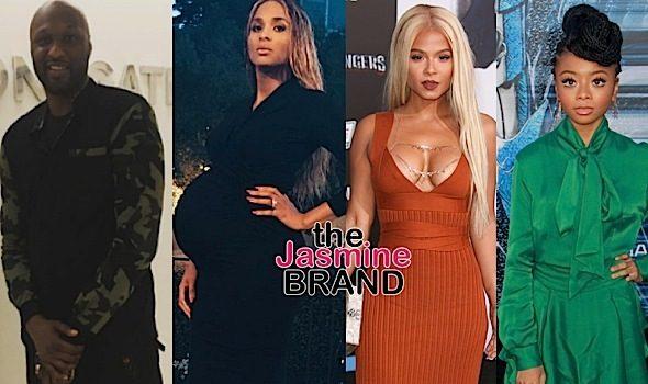 Naturi Naughton, Sonequa Martin-Green, Lamar Odom, Ciara, Christina Milian [Celebrity Stalking]