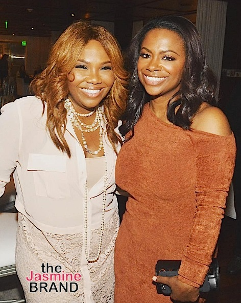 Kandi Burruss Hints Mona Scott-Young Involved In New Xscape Project [VIDEO]