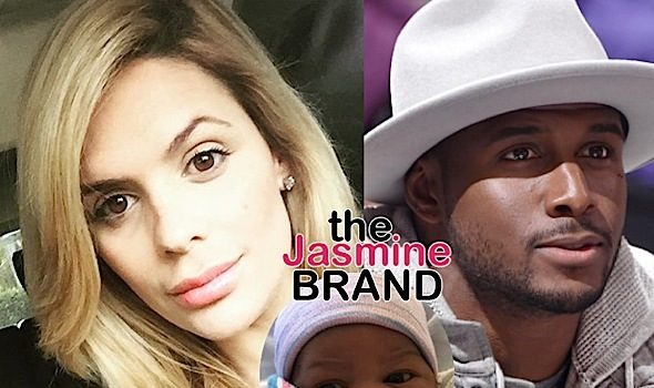 Reggie Bush's Alleged Baby Mama Reveals Newborn Son Baby Preston [Photos]