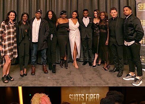 """Shots Fired"" Screening: Regina Hall, Estelle, Debbie Allen, Morris Chestnut [Photos]"