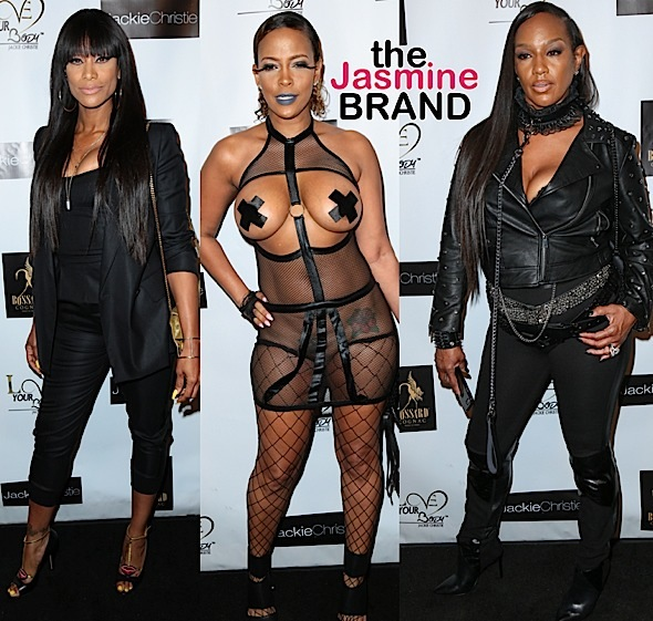 Jackie Christie Hosts '50 Shades Darker Soiree': Tami Roman, Sundy Carter Attend [Photos]