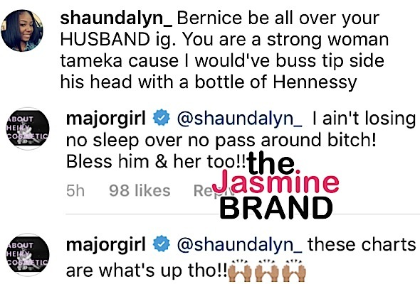 'Tiny' Harris Calls Out T.I.'s Alleged Side Chick Bernice Burgos: She's a pass around b*tch!