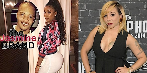 Tiny Calls Out T.I.'s Alleged Side Chick Bernice Burgos: She's a pass around b*tch!