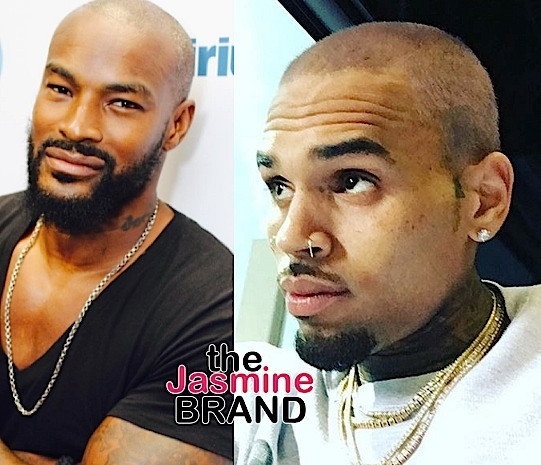 Tyson Beckford Thinks Chris Brown Is On Drugs: I have no respect for dude.