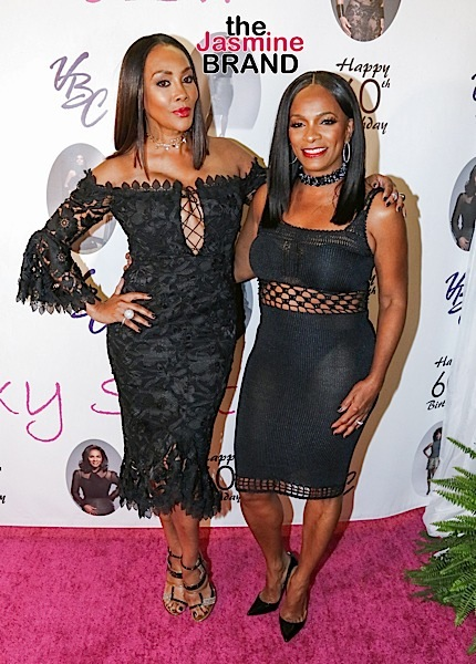Vanessa Bell Calloway Turns 60 With Vivica Fox & Tina Lawson, Cosby Kids Keshia Knight-Pulliam & Malcolm Jamal Warner Reunite + Laura Govan