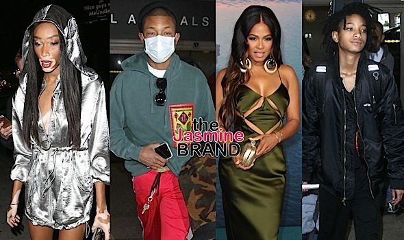 Jaden & Willow Smith, Winne Harlow, Pharrell, Christina Milian [Celebrity Stalking]