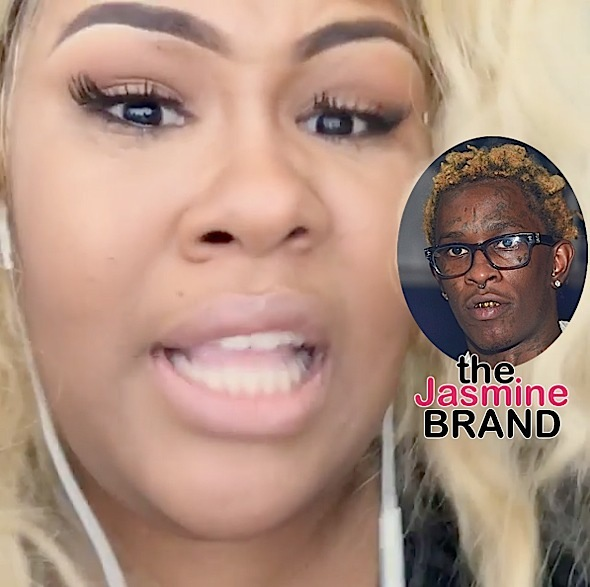 Woman Speaks Out After Being Slapped By Young Thug